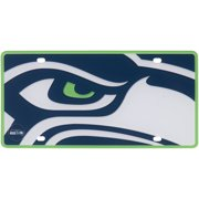 Seattle Seahawks Mega Acrylic License Plate - No Size