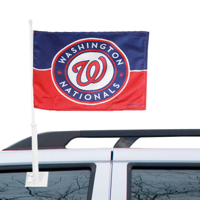 Fremont Die Inc Washington Nationals Car Flag With Wall Brackett Car Flag With Wall Brackett
