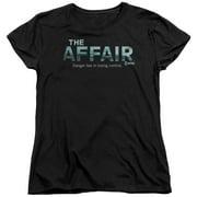 The Affair Ocean Logo Womens Short Sleeve Shirt