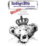 """IndigoBlu Cling Mounted Stamp 4""""X3""""-Baby Aloysius-Dinkie"""