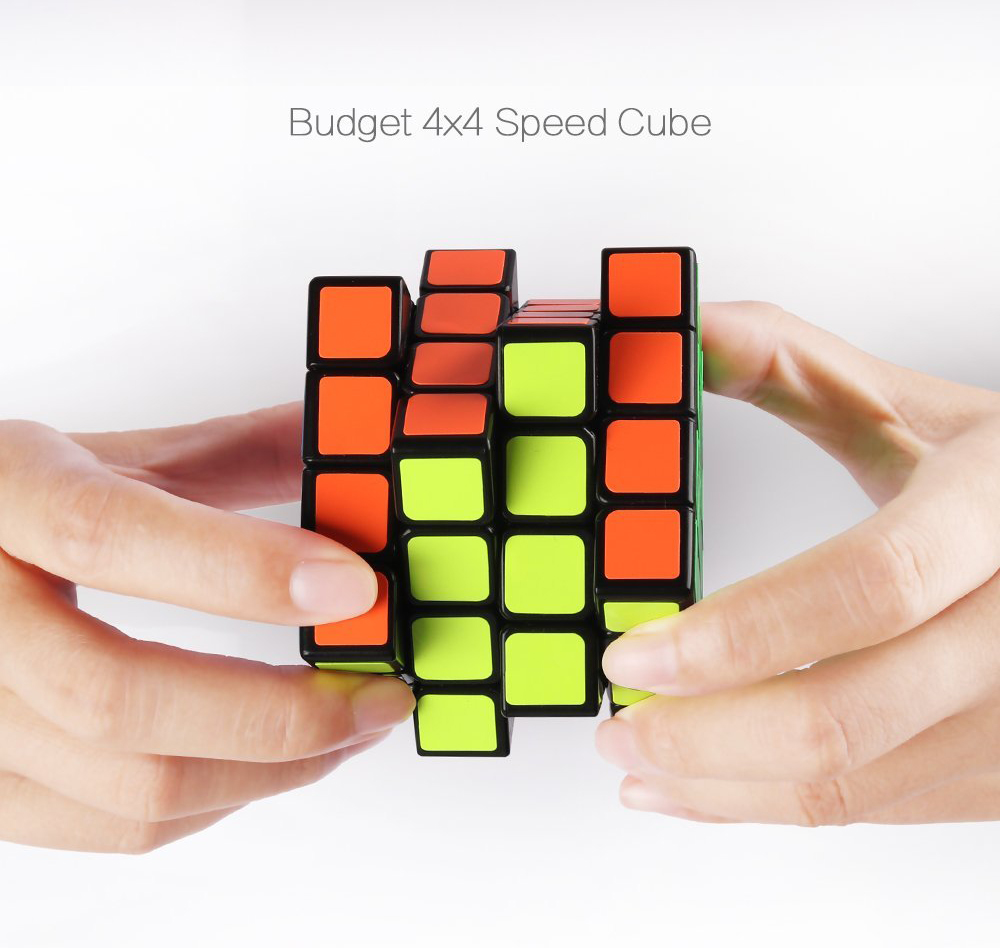 Peralng Speed Rubik Cube, Black Base Magic Rubik 6 color Puzzles Educational Special Toys Brain Teaser Gift Box, 4x4 Stickerless Develop Brain And Logic Thinking Ability Best Gift