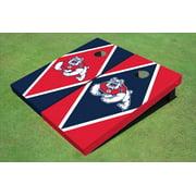Fresno State Bulldog Alternating Diamond Cornhole Boards