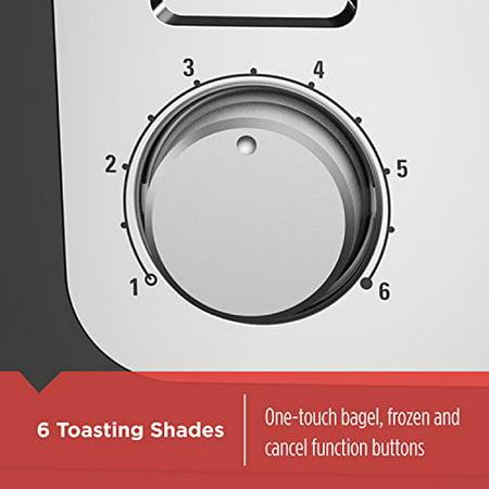 BLACK+DECKER 4-Slice Toaster, Stainless Steel, T4030 - image 4 de 5