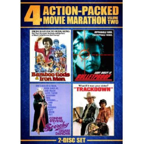 4 Action-Packed Movie Marathon, Vol. 2 - Bulletproof / Trackdown / Bamboo Gods And Iron Men / Scorchy