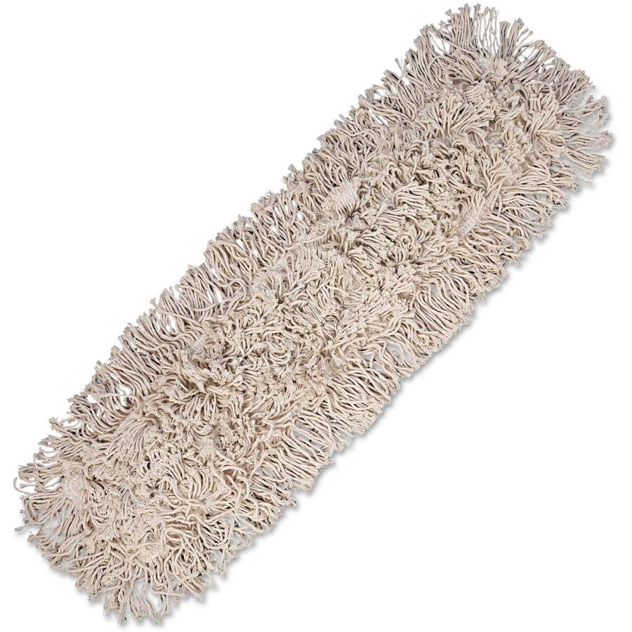 Boardwalk Cotton Dust Mop Head, White by UNISAN