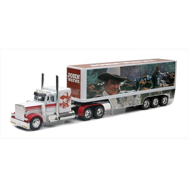 John Wayne Peterbilt Die Cast Semi Truck Tractor And