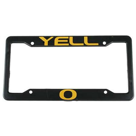Oregon Ducks Plastic License Plate Frame - Yell-O (Plastic Duck)