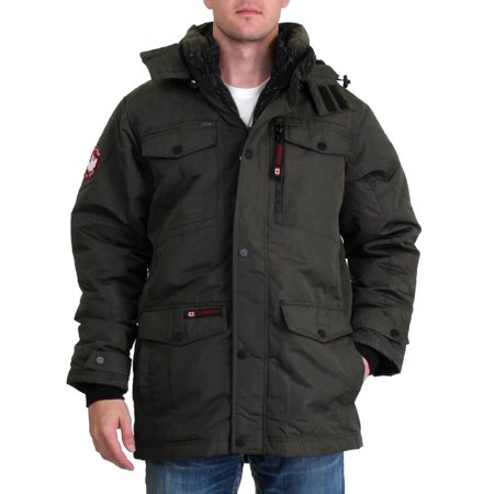Canada Weather Gear Mens Systems Waterproof Bib Parka Coat Canada Goose Expedition Parka