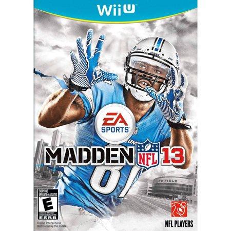 Madden NFL 13 (Wii U)
