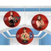 WWE Wrestling Bash Honeycomb Decorations (3pc)