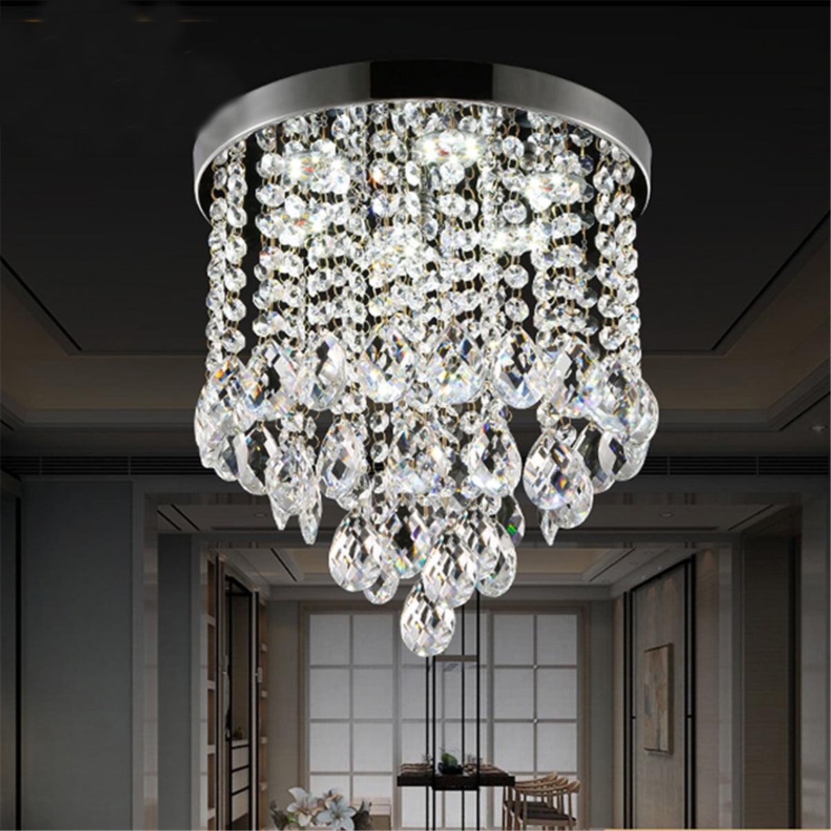 Ceiling Light Pendant Lamp Crystal Chandelier Lighting Fixture Home Decor Modern