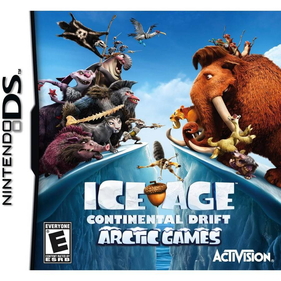 ICE AGE:CONTINENTAL DRIFT ARCTIC GAMES NDS ACTION