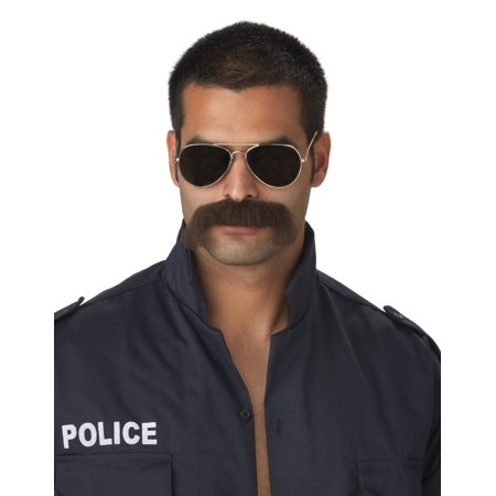 The Man Mustache Beard Adult Halloween Accessory - Beard And Mustache Costume