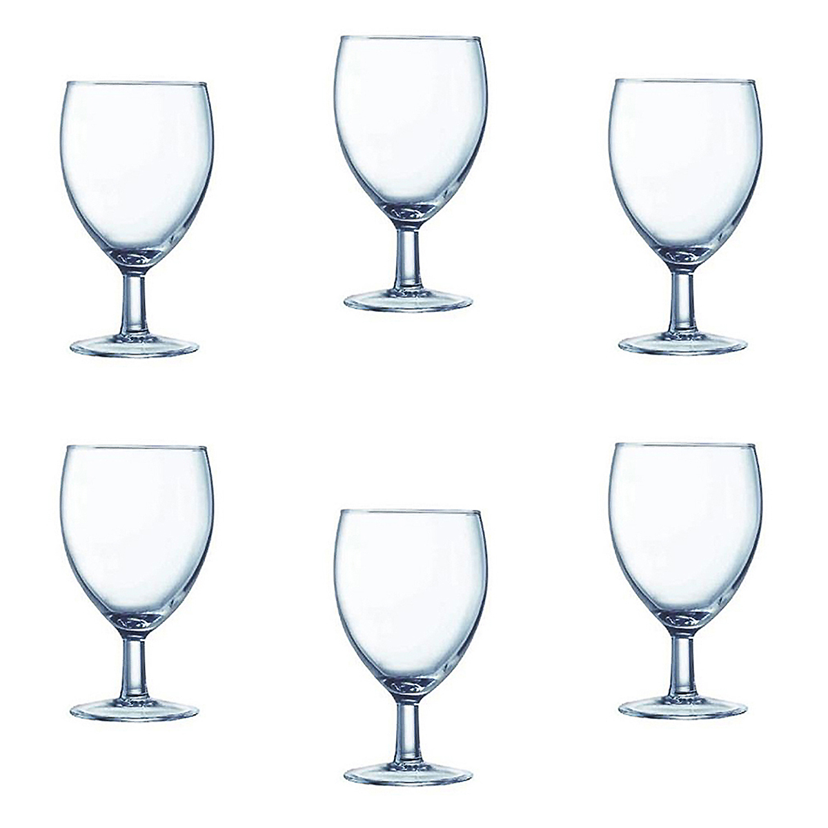 6 Cardinal Arcoroc Pro Balloon Glasses Set 11.5oz Goblet 07395 Water Wine Glass