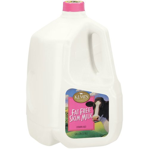 Kemps Fat Free Skim Milk, 1 gal