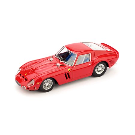 1962 Ferrari 250 GTO in Racing Red Model Car in 1:43 Scale by