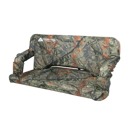 Ozark Trail Adjustable Tailgate Padded Couch, Camo