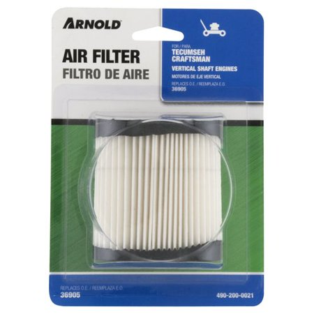 Arnold Replacement for Tecumseh Air Filter, 5.0-6.75