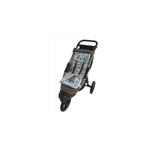 Tivoli Couture MFSL 1101 Luxury Memory Foam Stroller Liner, Giraffes