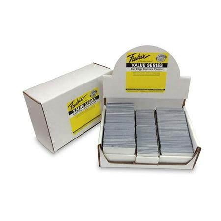 Fredrix Cut Edge Mini Canvas Panels 60-Pack 1-7/8 x 1-7/8 - White ()