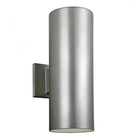 Sea Gull Lighting 8313902-10 Outdoor Bullets 2 Light 18 inch Bronze Outdoor Wall Lantern