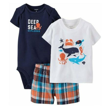 Deep Sea Diver Outfit (Baby Boys 3 Piece Nautical
