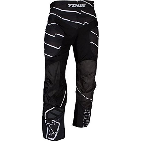 Tour Hockey Mens Code Active Youth Hockey Pants, Black, - Tour Hockey Pants