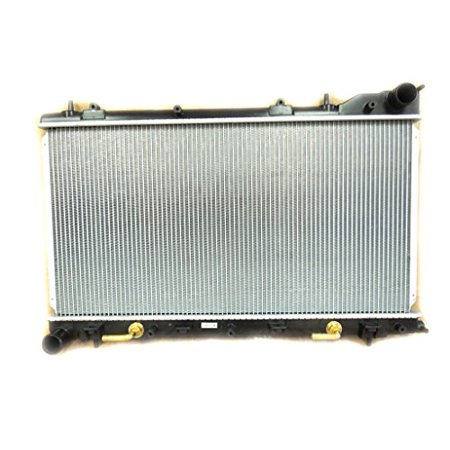Radiator - Pacific Best Inc For/Fit 2812 03-05 Subaru Forester Automatic 4Cy 2.5L WITH TURBO Plastic Tank Aluminum Core