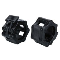 2Pcs Exercise Collar Olympic Standard Weight Bar Clamps Gym Fitness Lock Dumbbell Weightlifting Tool 50mm/2inch