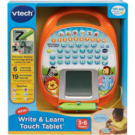 vtech write learn touch tablet walmartcom