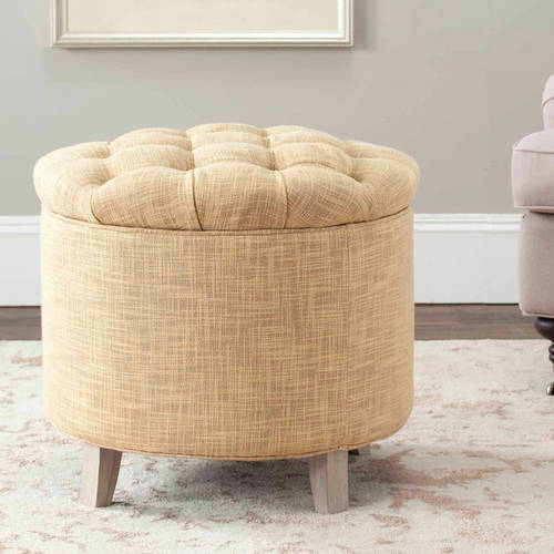 Safavieh Amelia Tufted Storage Ottoman, Multiple Colors
