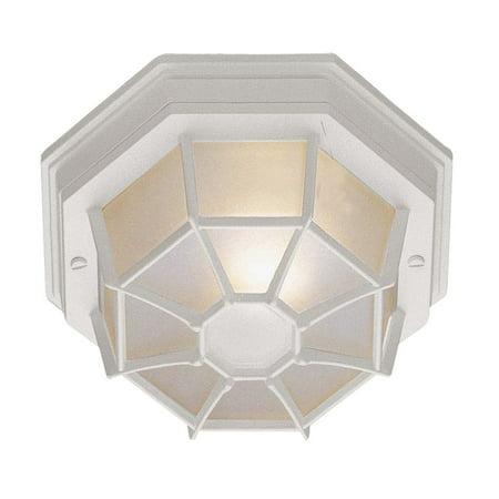 Trans Globe Lighting 40581 Single Light Down Lighting Flush Mount Ceiling Fixture from the Outdoor