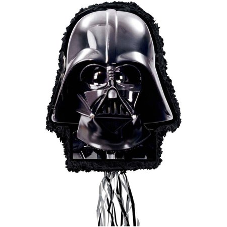 Star Wars Darth Vader Pull-String Pinata - Mario Star Pinata