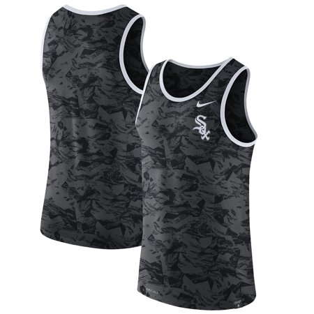 - Chicago White Sox Nike Premium Performance Tank Top - Anthracite