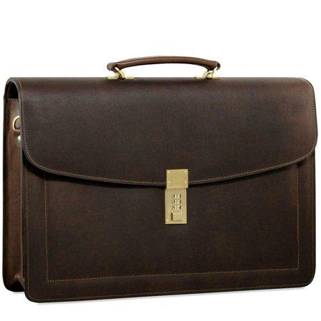 Jack Georges Belting Slim Combination Lock Briefcase