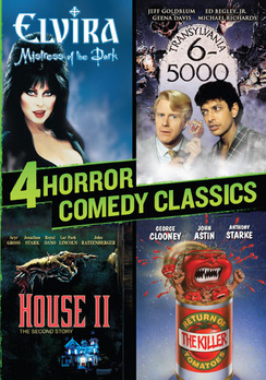 4 Horror Comedy Classics (DVD) by Image Entertainment