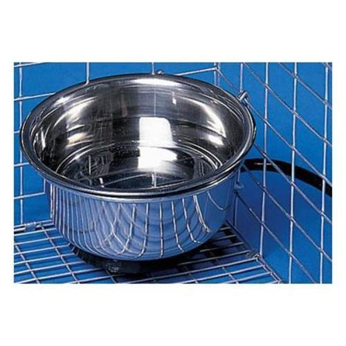 Allied Precision Heated Pet Bowl with Cage Mount by