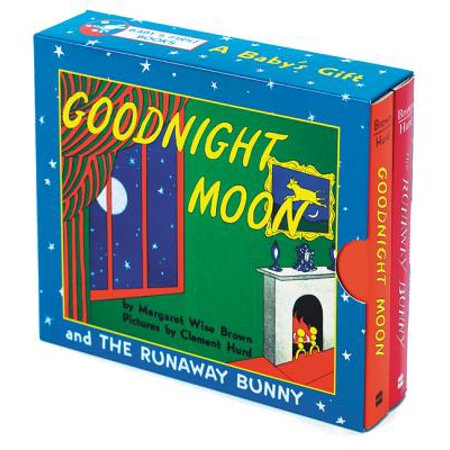 A Baby's Gift: Goodnight Moon and the Runaway Bunny (Hardcover) - The Moon Fairy