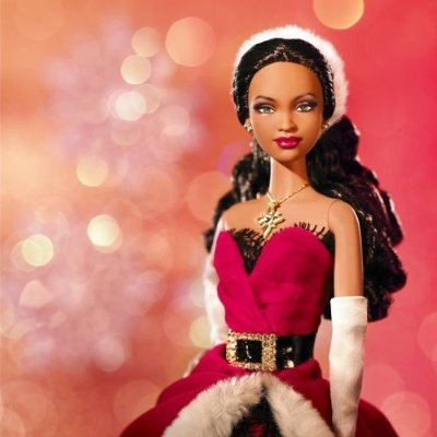 2007 Holiday Barbie Doll, African American by Mattel