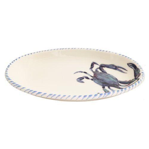 Abbiamo Tutto Crab Oval Pasta Bowl by