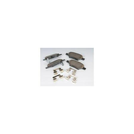 AC Delco 171-0968 Brake Pad Set For Chevrolet Malibu, Organic OE Replacement