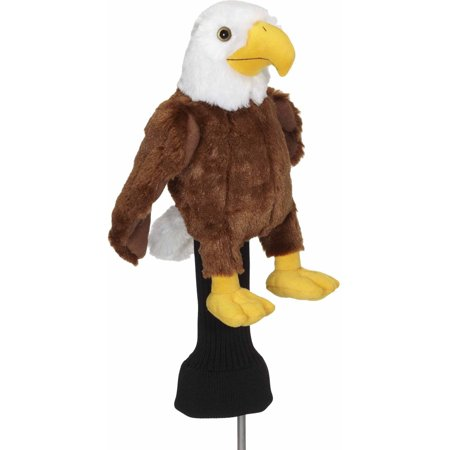 Dog Driver Headcover (Creative Covers For Golf Bald Eagle Driver Headcover)