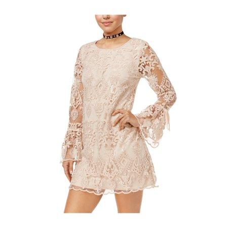 914c732f94f Trixxi Womens Lace Shift A-line Dress 680 L - image 1 of 1 ...