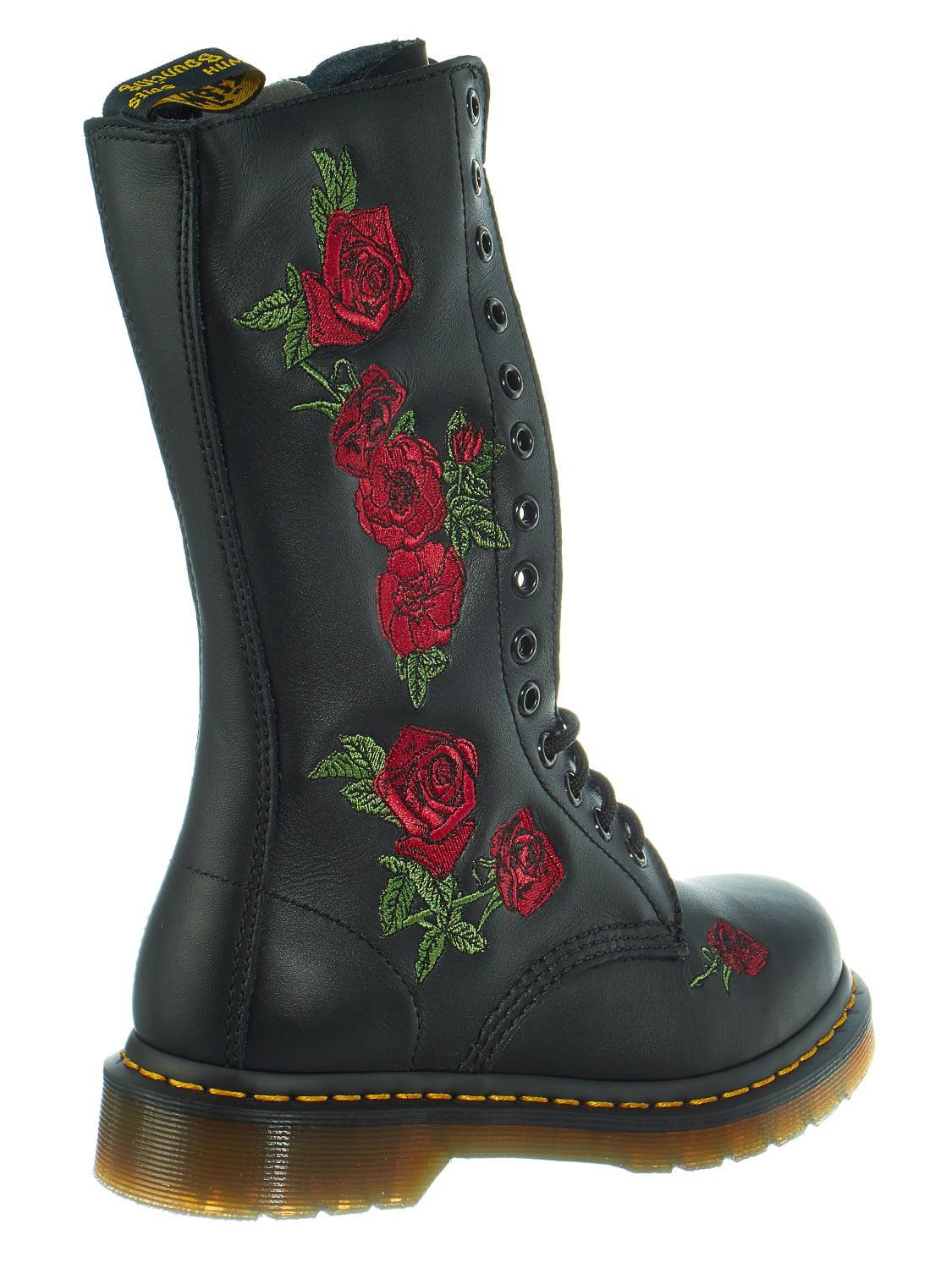 ff83d2923388 Dr. Martens - Dr. Martens Vonda Knee High 14-Eye Lace Up Boot Shoe - Womens  - Walmart.com