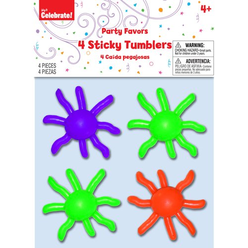 Way to Celebrate! Sticky Tumblers, 4 Pack