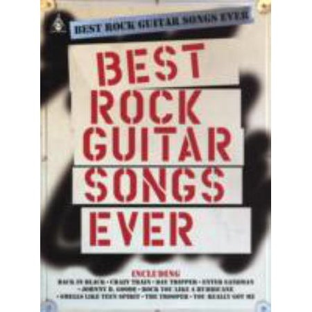 Best Rock Guitar Songs Ever (Paperback) - Best Halloween Rock Songs
