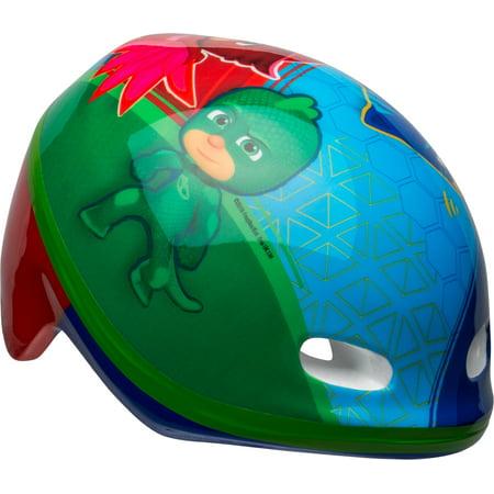 PJ Masks Multi-Character Toddler Bell Bike Helmet, Red/Blue/Green, Toddler 3+ (48 - 52 cm)