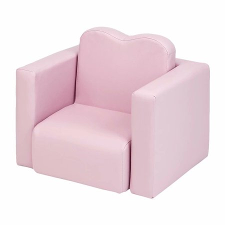Akoyovwerve Combined Pink Kids Sofa Arm Rest Chair Childs Sofa Couch Sofa Chair Set for Girls ()