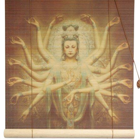 Thousand Arm Kwan Yin Bamboo Blinds