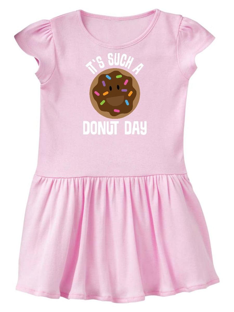 Donut Lover Doughnut Day Toddler Dress